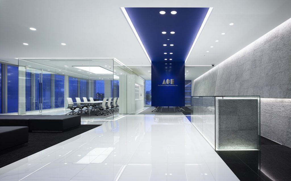 Glass Partitioning Office